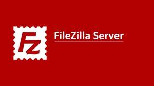 Install FileZilla Server on RDP
