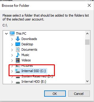Filezilla Folders.