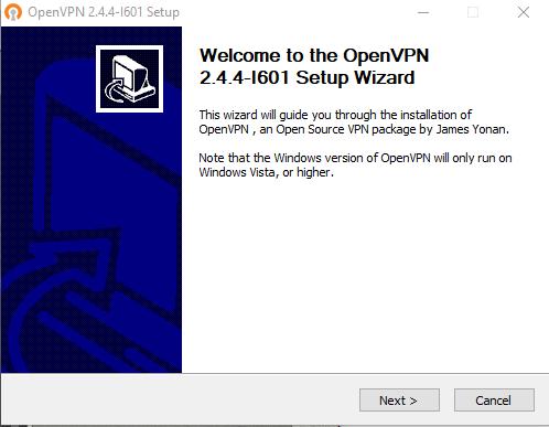 OpenVPN install